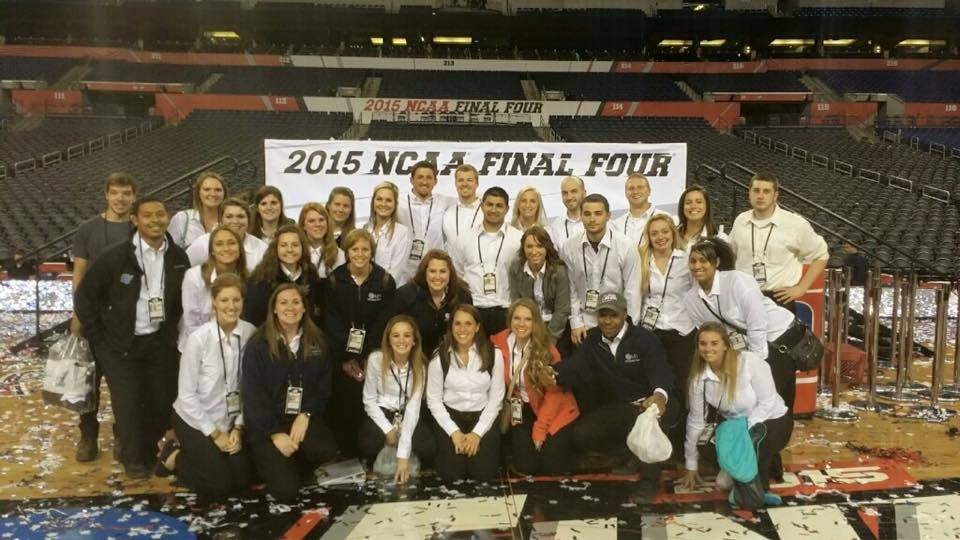 HTM Club at the 2015 NCAA Final Four